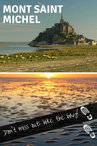 Hike the bay - Mont Saint Michel - Pinterest- Pin