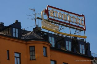 Detail of Södermalm, the hipster neighbourhood of Stockholm, Sweden
