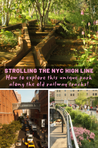 High Line - Pinterest - PIN - NYC -USA