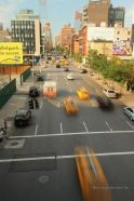 Street view from the High Line, New York City