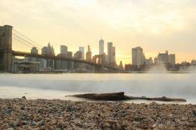 Manhattan Skyline from DUMBO, Brooklyn, New York City