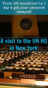 NYC - UN HQ PIN
