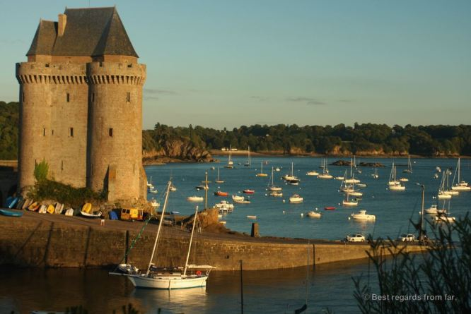 The Solidor tower (13th century), Saint Malo