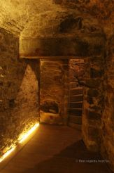 The hidden passages of corsairs' houses facilitated black market, Saint Malo, France