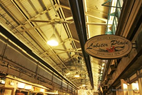 The famous Lobster Place, the perfect store to buy lunch, Chelsea Market, NYC