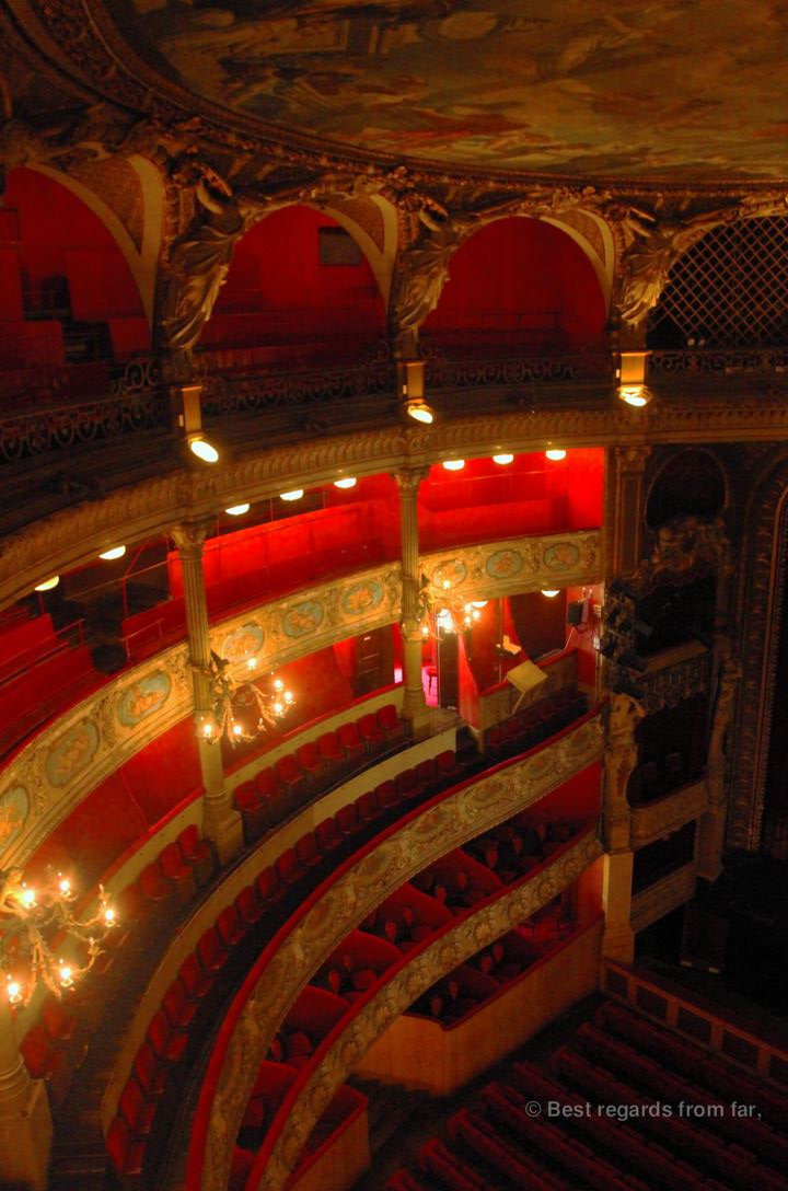 The opera house, Toulon.