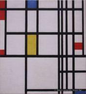 MoMA - Mondrian - Trafalgar Square
