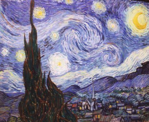 MoMA - van Gogh - The starry night