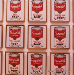 MoMA - Warhol - Campbell's soup cans
