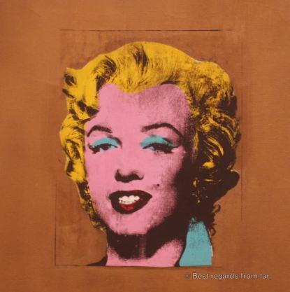 MoMA - Warhol - Gold Marilyn Monroe
