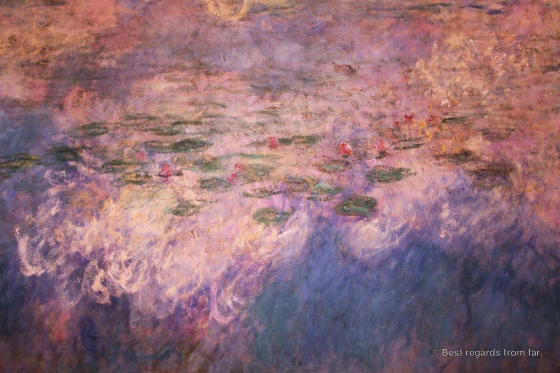 Monet – Reflections of Clouds on the Water-Lily Pond   Best regards