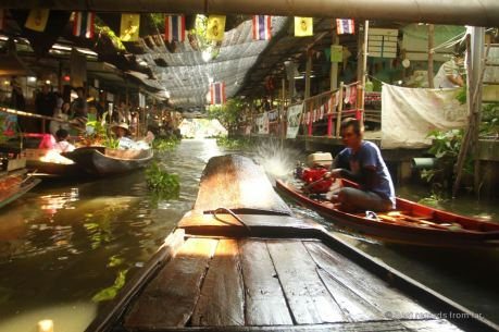 The Khlong Lat Mayom canal, Bangkok, Thailand