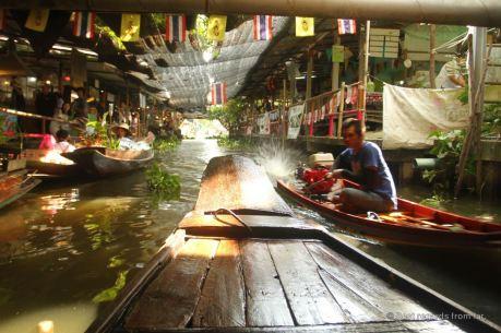 The Khlong Lat Mayom canal, Bangkok, Thailand