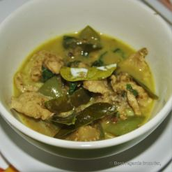 Green curry, Thai cooking class