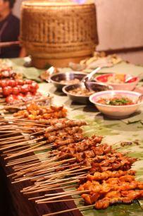 Ban Anou night market, Vientiane, Laos