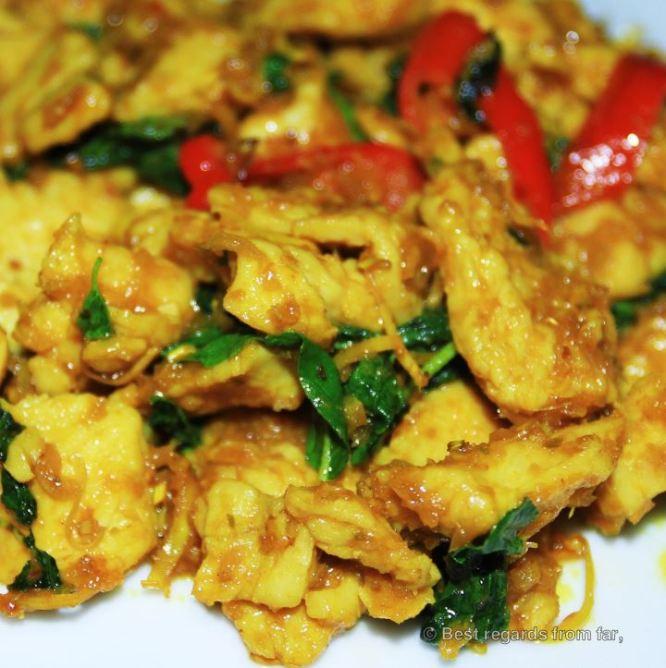 Cha Kdav, Cambodian food specialties