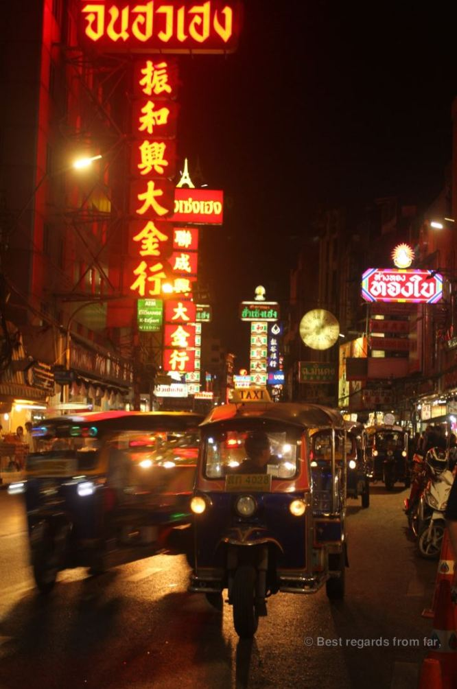 Chinatown at night, Bangkok, Thailand