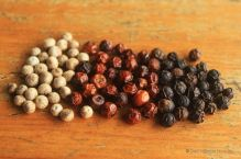 White red and black pepper, Kampot, Cambodia