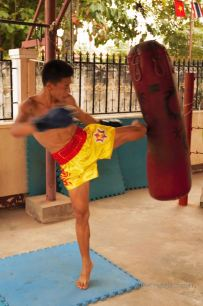 Learn Muay Thai with the pros, Vientiane, Laos