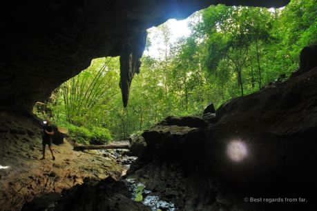 Nam Ta Lu cave, Khao Sok, Thailand