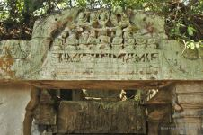 Details of the Khmer ruins of Beng Mealea, Cambodia