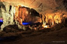 The stunning chamber of the Kong Lor cave, the loop, Laos