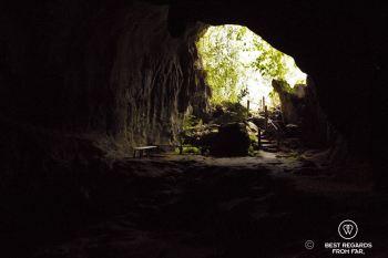 Mouth of the Muang Ngoy Neua cave, Laos