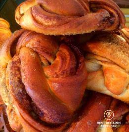Kanelbullar or Swedish cinnamon roll