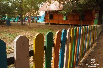 The kindergarden area of the Phare Ponleu Selpak circus in Battambang, Cambodia