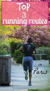 Running in Paris, France PIN