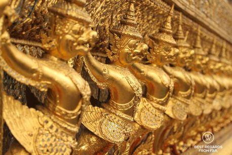 Garudas in the Grand Palace, Bangkok, Thailand