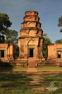 Kravan, an ancient temple of Angkor, Cambodia
