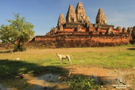 Pre Rup, an early temple of Angkor, Cambodia