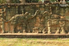 Terrace of the elephants, Angkor, Cambodia