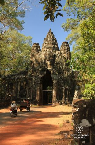 The Victory Gate, Angkor Thom, Angkor, Cambodia