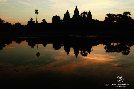 Sunrise on Angkor Wat, Cambodia