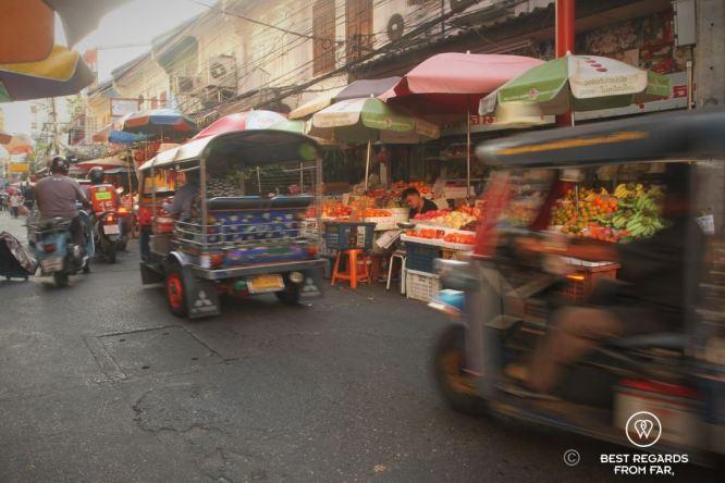 Chinatown market, Bangkok, Thailand