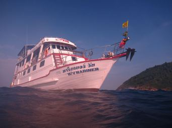 Live aboard the Mariner, Surin & Similan Islands, Thailand