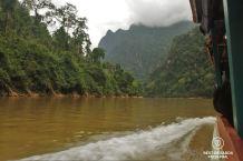 The Nam Ou River, Laos