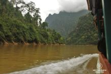 The Nam Ou River, Laos