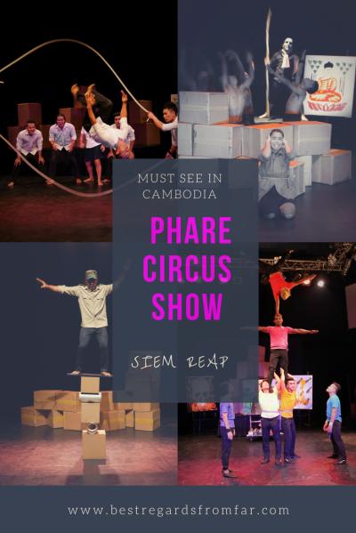 Phare, the Cambodian Circus - PIN