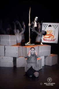 The horror of the Khmer Rouge at Phare the Cambodian Circus, Siem Reap, Cambodia