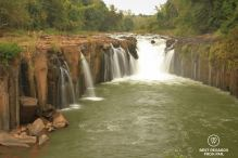 Pha Suam waterfall, the Swing, Laos