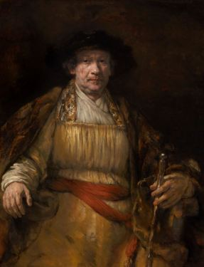 Rembrandt Harmensz. van Rijn (1606–1669), Self-Portrait, dated 1658, Oil on canvas, 52 ⅝ x 40 ⅞ inches, The Frick Collection, New York - Photo: Michael Bodycomb
