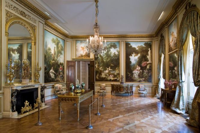 The Fragonard Room, The Frick Collection, New York - Photo: Michael Bodycomb