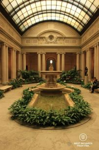The Garden Court, The Frick Collection, New York
