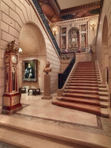 The Grand Staircase, The Frick Collection, New York- Photo: Michael Bodycomb