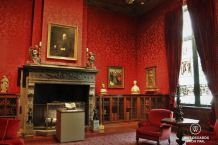 Pierpont Morgan's study, the Morgan Library, New York City