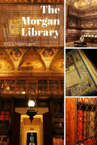 The Morgan Library - Pinterest PIN - NYC - USA