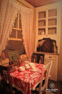 The handmade cabinet of Mr. Baldizzi, the Tenement Museum, New York City